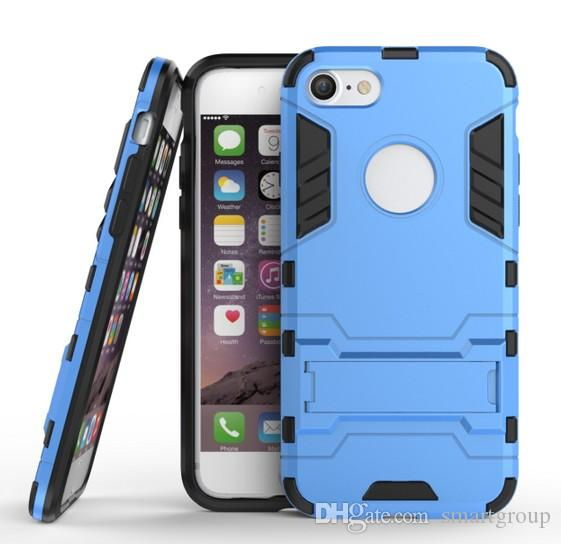 Apple Iphone 7 7S Case Rugged Combo Hybrid Armor Bracket Impact Holster Custodia protettiva Apple Iphone 7 7S