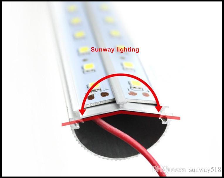 4ft T8 LED Tube 28W 4 pieds G13 V Forme Double faces led boutique lumière Pour glacière congélateur vitrine 25-pack