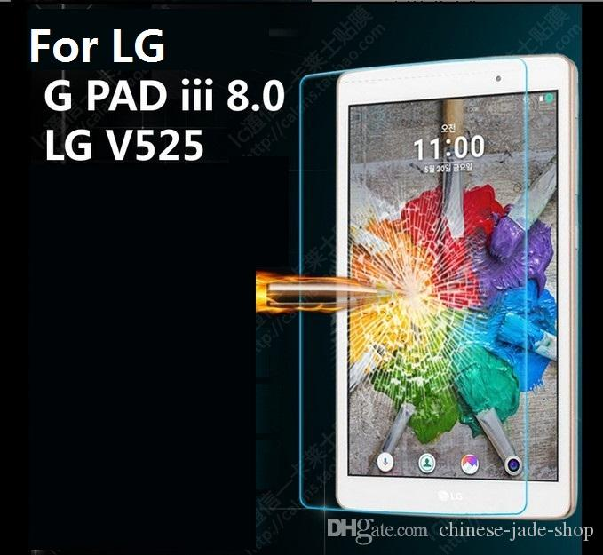 Pour LG G PAD V400 V480 V500 V700 V495 V930 VK815 V525 V755 8,0 FHD F2 ECHO SHOWO 9H Premium Glass Screen Protector /