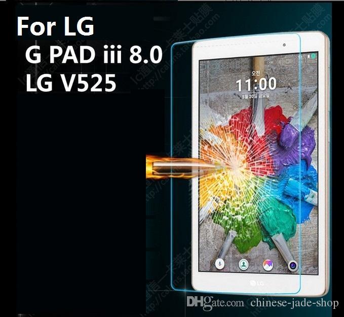 Voor LG G PAD V400 V480 V500 V700 V495 V930 VK815 V525 V705 8.0 FHD F2 ECHO Toon 9H Premium Gehard Glass Screen Protector /