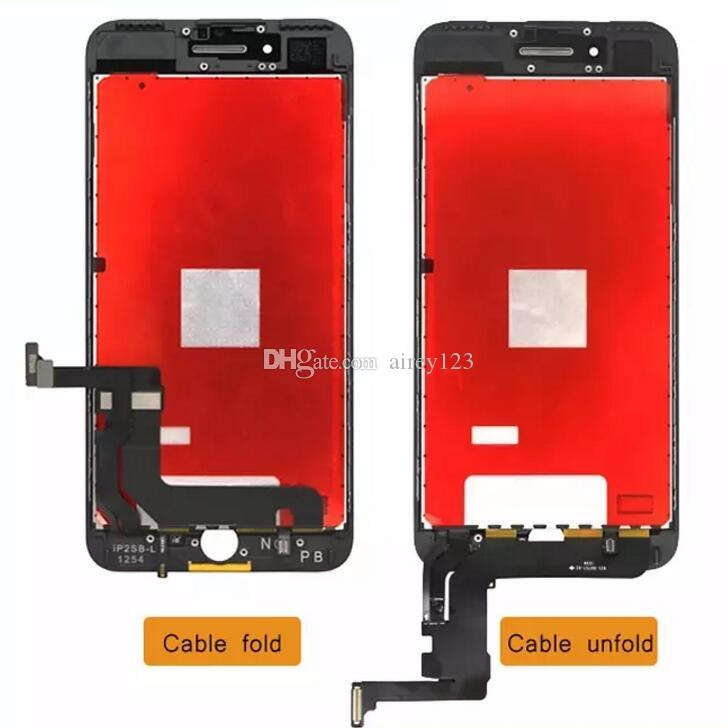 Superior Quality A+++ iPhone LCD Assembly Display Panel Touch Screen Digitizer Replacement Parts for Apple iPhone 6/6S/7 Plus