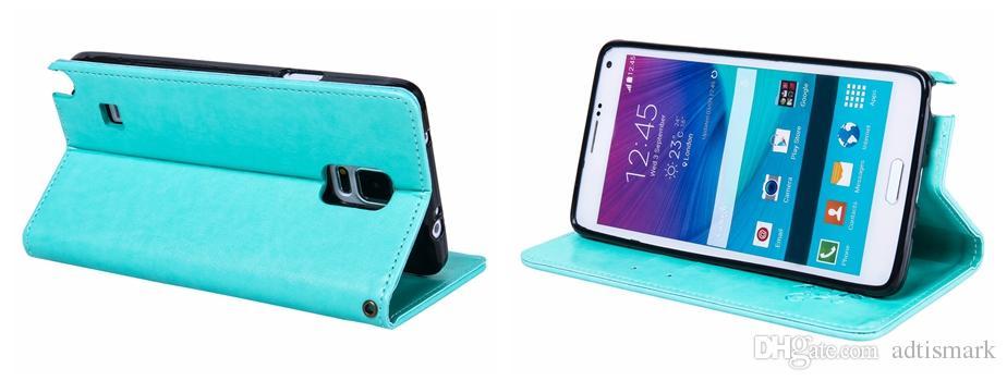 إلى Samsung Galaxy Note 5 4 3 Cover Flip Case Luxury Leather Card Retro Classic Cover for Galaxy Note5 Note4 Note3 Case