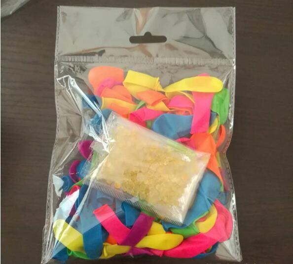 50 حقيبة / وحدة بانش بالونات المياه ماجيك بالونات المياه من أكياس الملء البالونات + الأختام o- حلقات + مجموعة الأنابيب ماجيك بالونات كيت