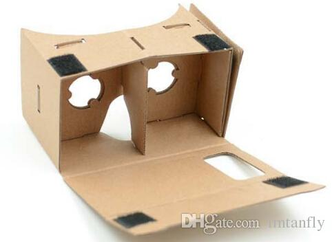 DIY Google Karton VR BOX Version VR Virtual Reality 3D-Brille für 3,5 bis 6,0 Zoll Smartphone
