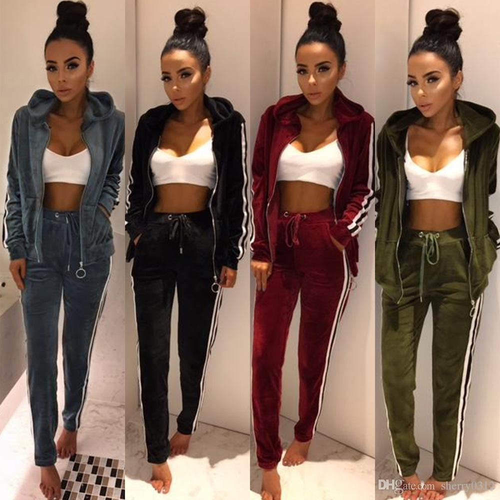 Stylish womens jogging suits rare photo
