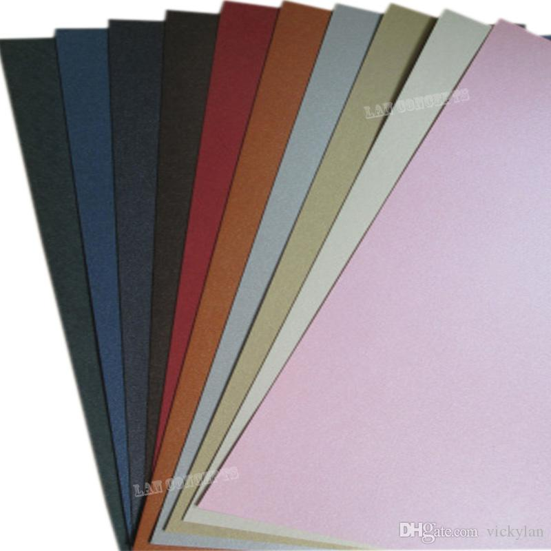 A4 250g Pearly Lustre Paper Card Stock For Diy Postcard Album