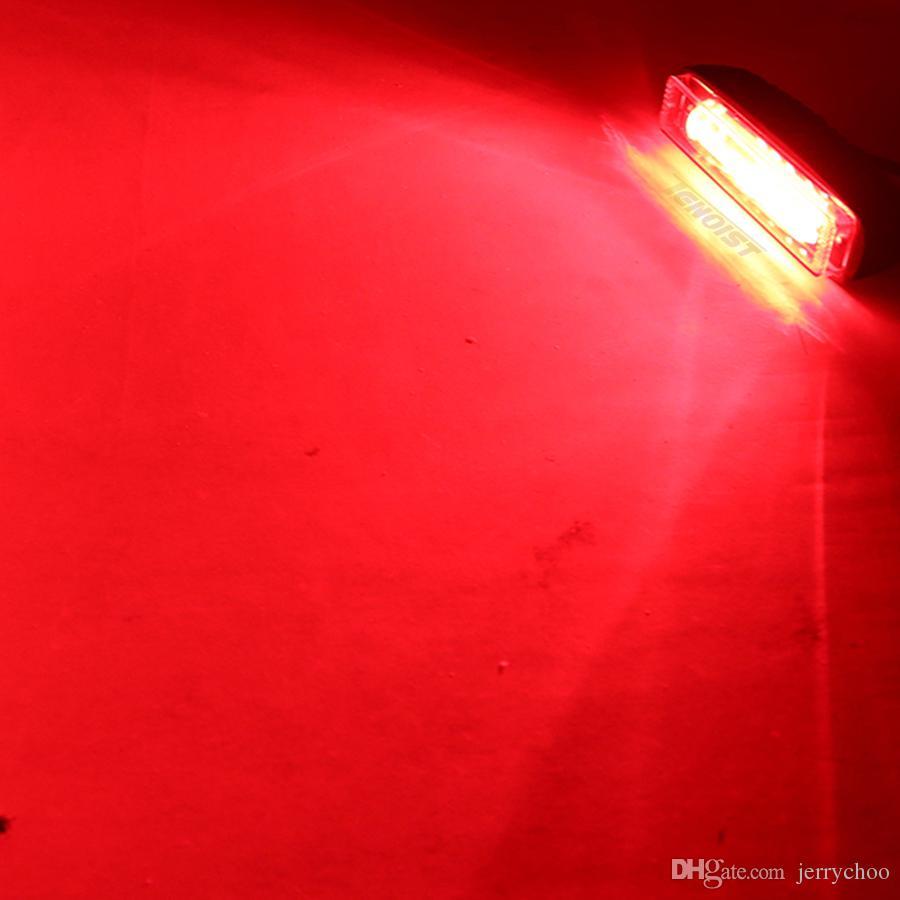 New 6.2 Inch 20W Red White Blue DRL Warning Brake Light For Offroad Forklift Wrangler Truck Car SUV ATV UTV 12V 24V