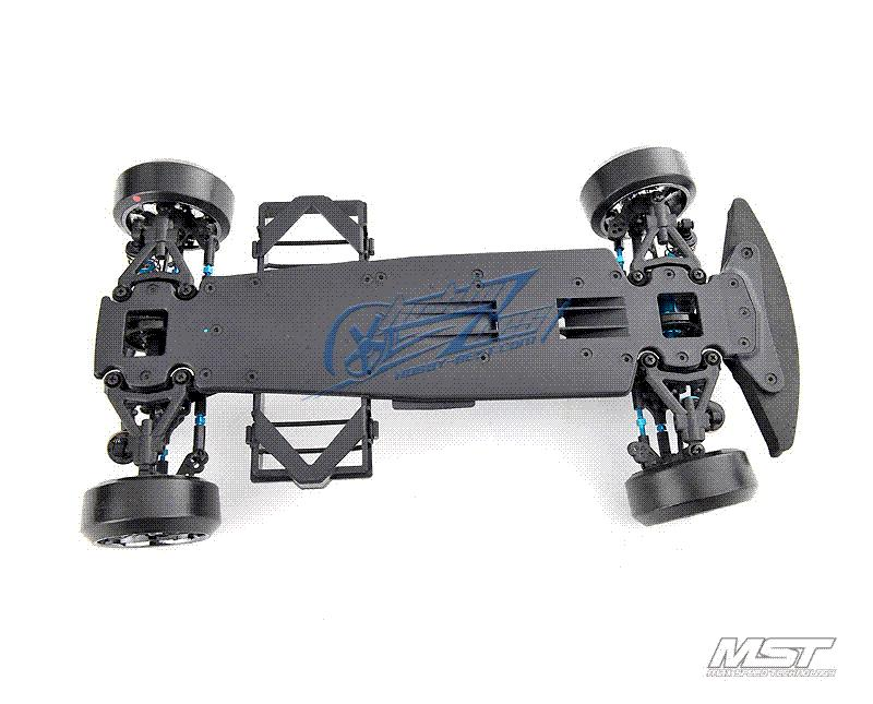 Mst Ms 01d Pro 1 10 Scale 4wd Electric Drift Car Chassis Kit