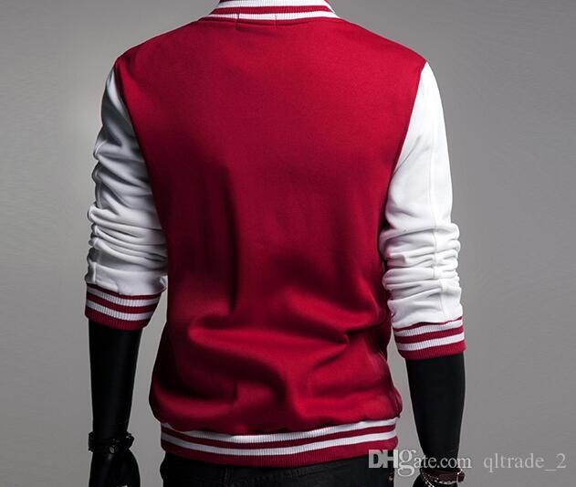 2016 Hip Hop Hoody Cardigan Sport Baseball Jacke Herren Winter Outdoor Hoodies
