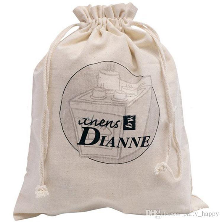 Borsa da sposa vintage personalizzata personalizzata damigella d'onore regalo damigella d'onore custodia piccola borsa flanella Borse regalo zaini