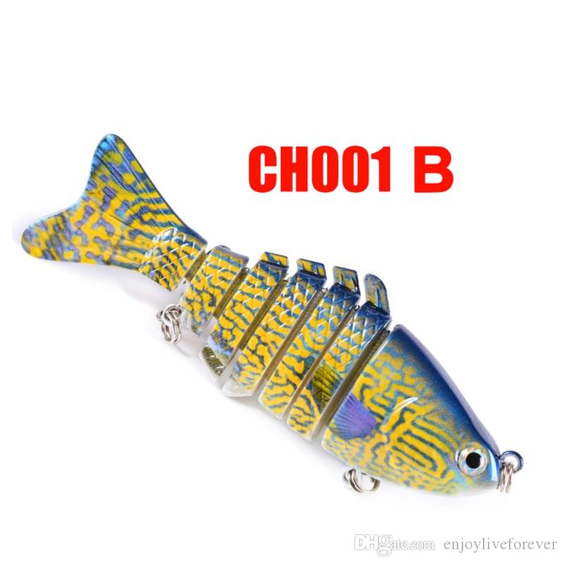 New Painted Plastic Hard Baits 10cm Jointed Simulate Fishing Lure 15.6g Lifelike Fake Lure of Fishing Tackle