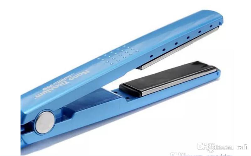 Alta calidad PRO 450F 1 1/4 placas bebé liss plate Plancha de pelo enderezar planchas de hierro plano DHL envío rápido gratis
