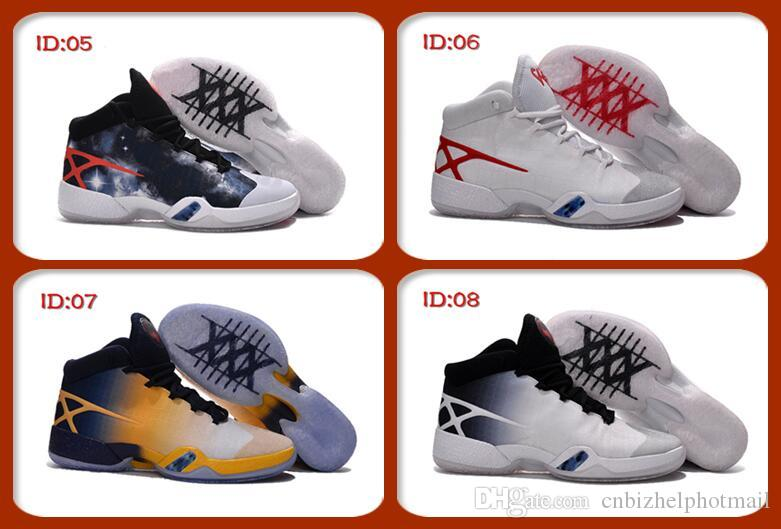 2018 2016 high quality air original 30 retro xxx 30s men