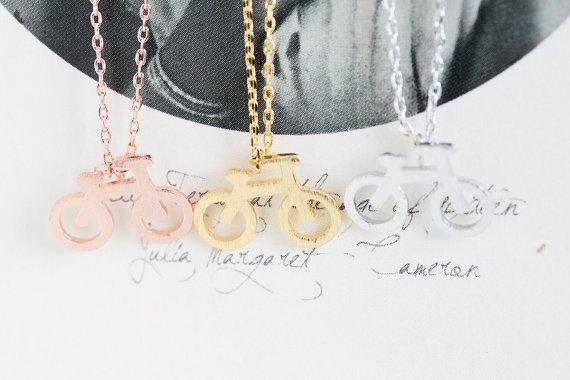 Hot vente hippie chic vélo pendentif collier Bohemian mode femmes Neclaces 2016 ms collier mince festival meilleur cadeau