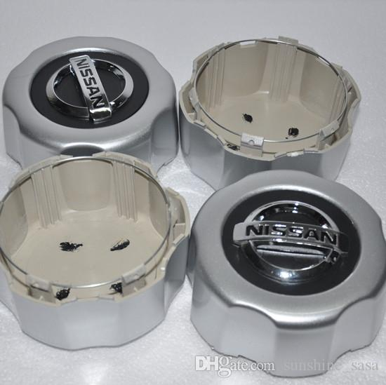 Hochwertige 4x für Nissan Pathfinder Xterra Frontier PickUp Paladin SUV-Leichtmetallfelgenabdeckung Radkappen