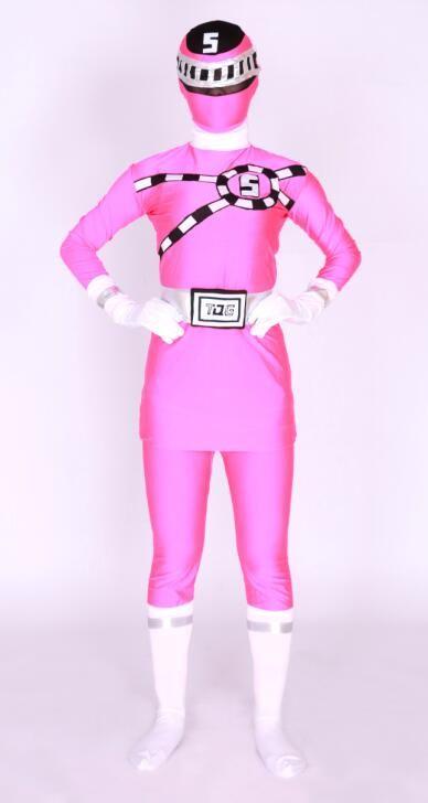 2019 2016 new design rose pink super hero tg no5 logo lycra body