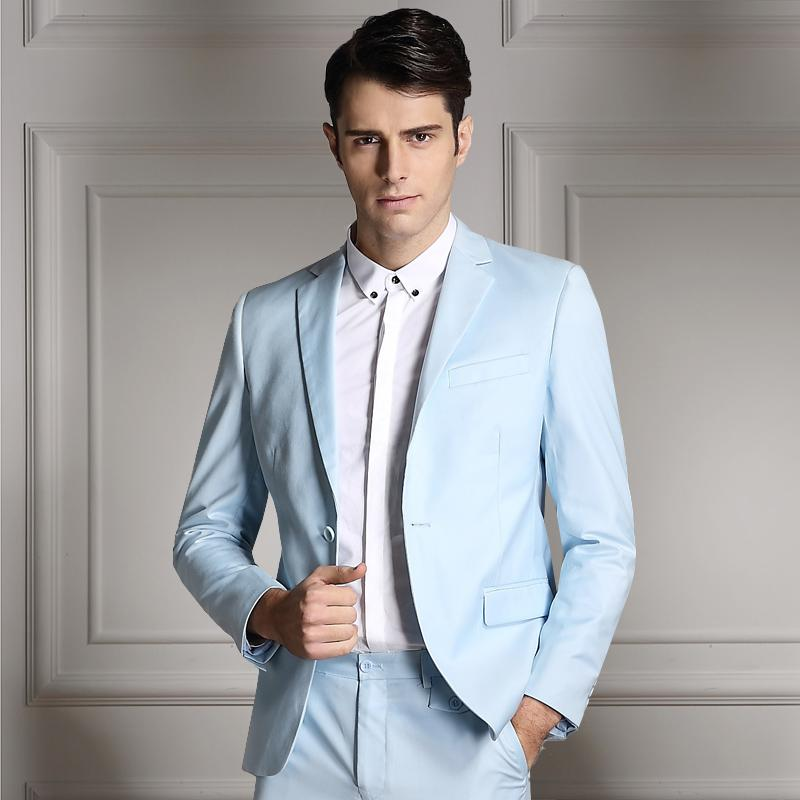 Coats + Pants 2016 neue Herren Anzüge Marke Mode Business Anzüge Männer Hochzeit Anzüge Formale dünne Anzüge 2ST Sets 9 Farben plus US Größe XXS-XL