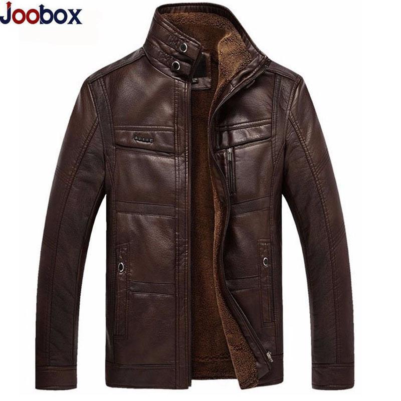 2017 Plus Size 4xl Leather Jacket Men Coats 2017 High Quality Pu ...