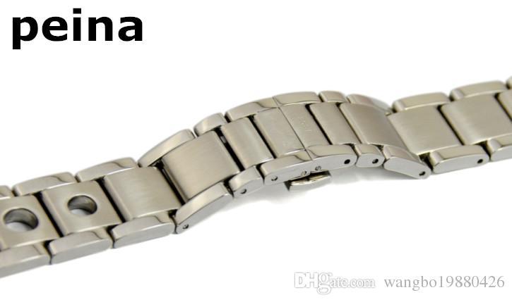 20 mm fibbia 18mm T91 Cinturino serie PRS 516 Racing in cinturino in acciaio inossidabile