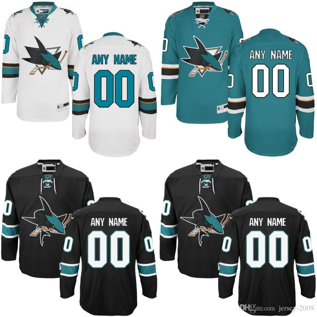 2018 2016 Customized Men S San Jose Sharks Custom Any Name Any Number Ice Hockey  Jersey 6ffc33a4a