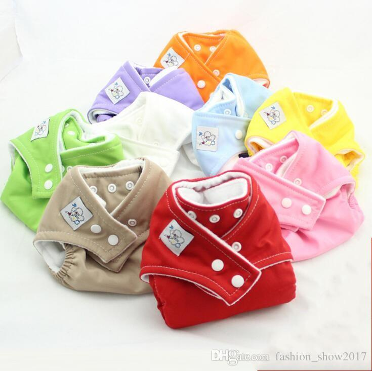 Hot Reusable Baby Infant Nappy Cloth Diapers Soft Covers Washable Free Size Adjustable Fraldas Winter Summer Version