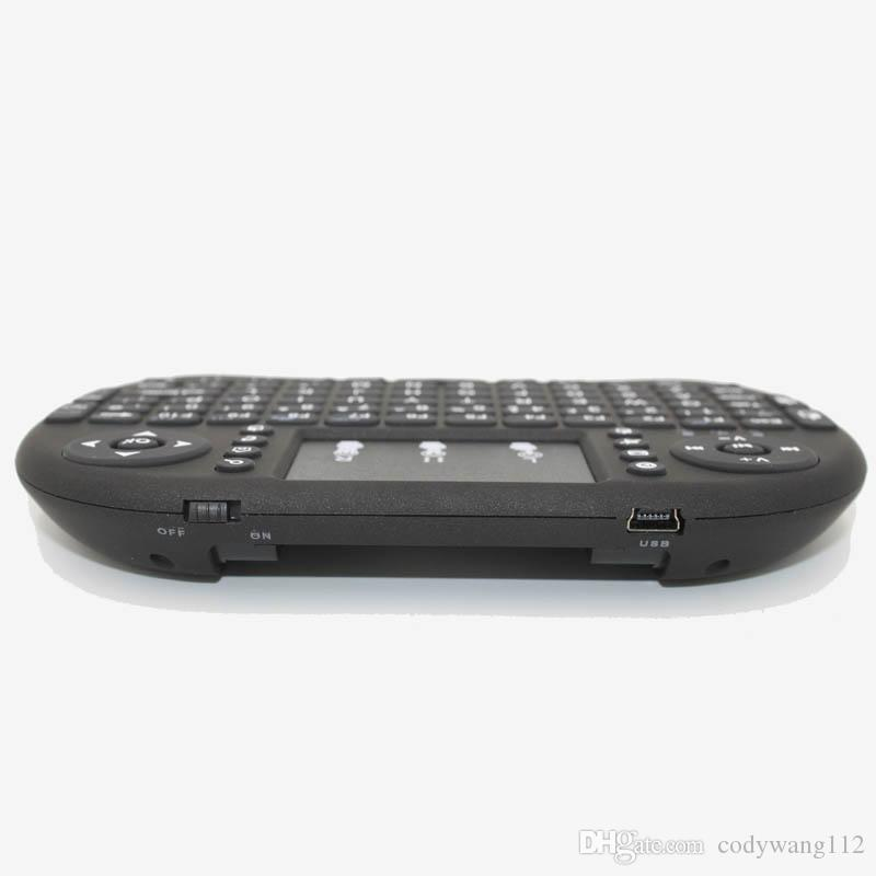 Rii I8 Fly Air Mouse Mini Wireless Handheld Keyboard 2.4GHz Touchpad Remote Control For M8S MXQ PRO Android TV BOX Mini PC