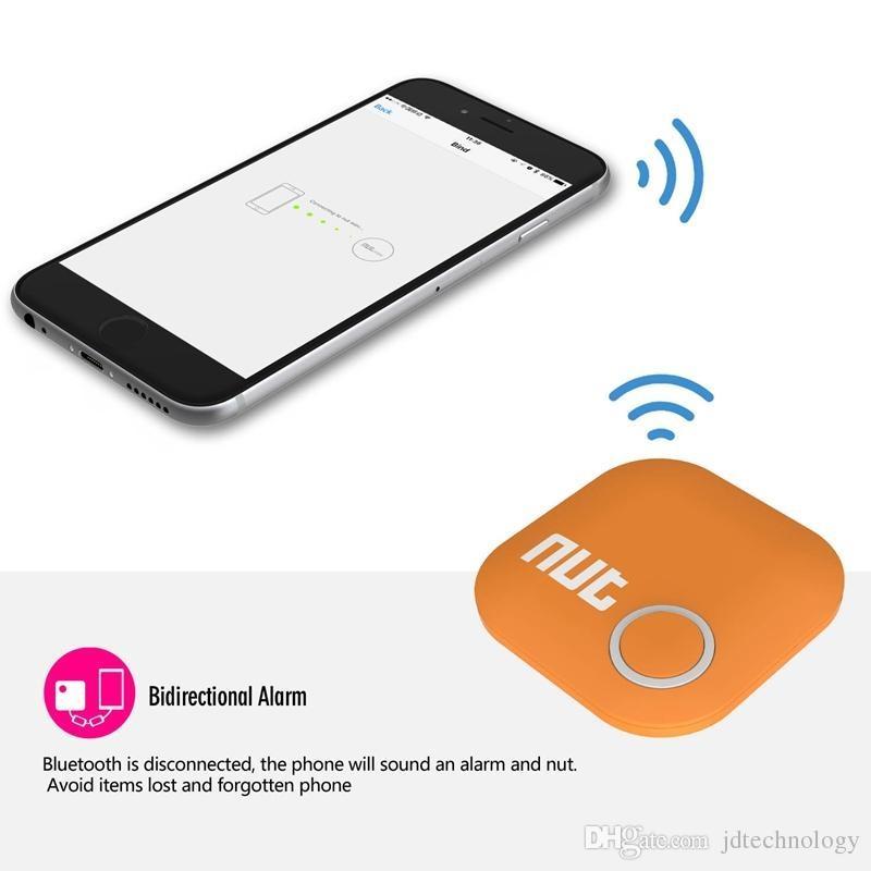 shop anti lost alarm online wireless bluetooth 40 nut 2 tracker smart finder tag tile gps key finder alarm sensor anti lost bag wallet locator with as