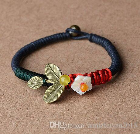 Promotion Fashion Vintage Ethnic Style Wrapped Wire Decoration Bracelets National Style Woven Charm Bracelets Ethnic Jewelry