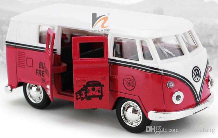 New Arrival Alloy Car Model, Boy' Toy, Classic Mini Bus, Retro Bubble Car,School Bus, High Simulation,Kid' Gifts,Collecting, Home Decoration