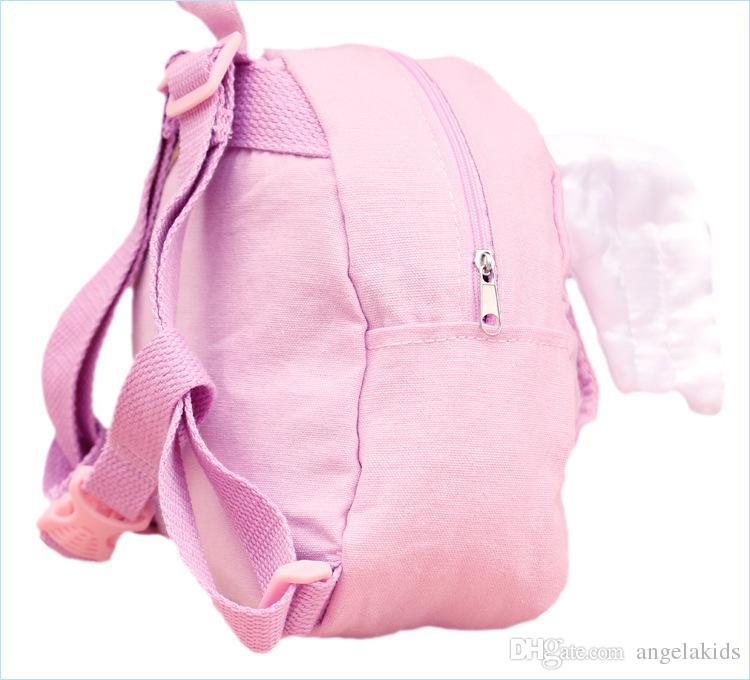 2 pack harnais de sécurité sac à dos ailes bébé enfants anti-perte sac à dos mini sac de voyage sécurité harnais de marche rênes enfant sangle sangle ba