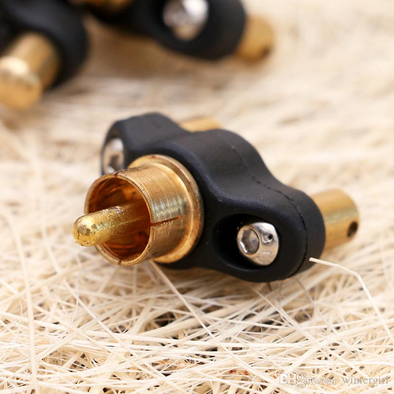 Hot Sale Compact Design Mini Tattoo Clip Cord RCA Converter for Tattoo Mahicne Gun Power Supply TPS5126