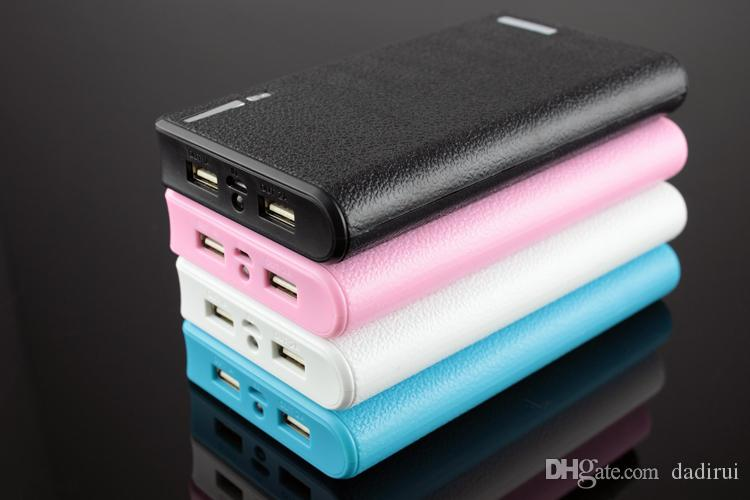 Power Bank 20000mah 2 USB output backup External Battery For iPhone 7 6 iPad Samsung s7 s6 Phone Charger