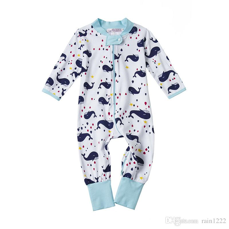 d7826bbad 2019 Baby Newborn Cotton Long Sleeve Romper Onesies One Piece Infant ...