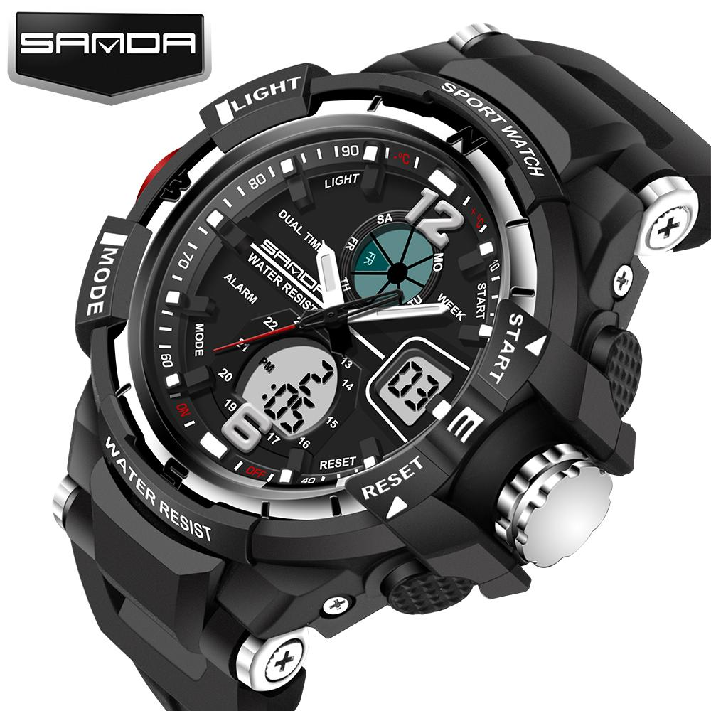 skmei brand index led sport waterproof digital men sports military top watches clock