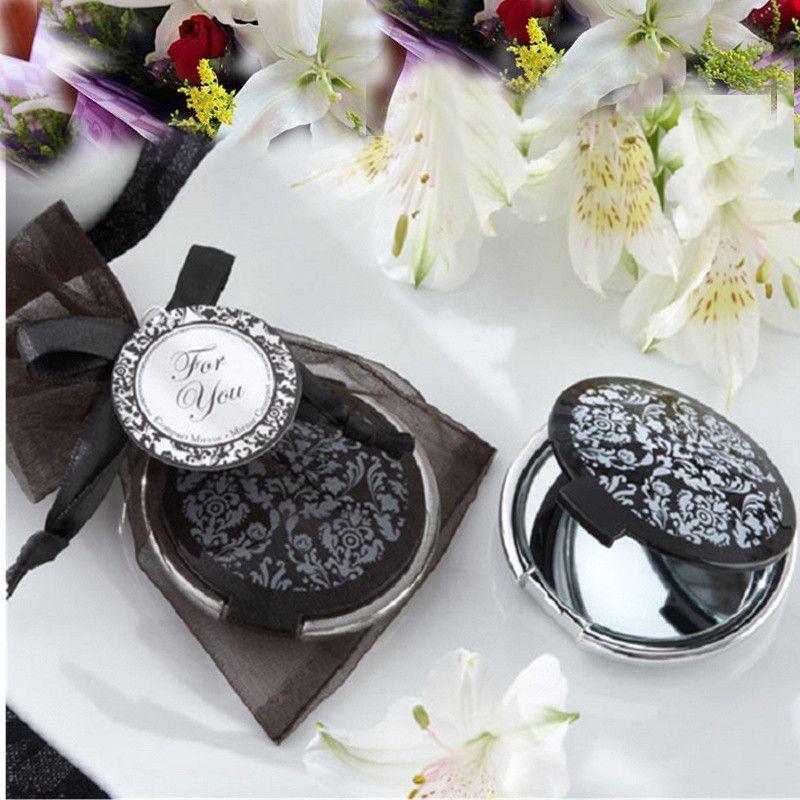 Damask Mirror Compact Favors Casamento Favor Party Souvenir Birthday