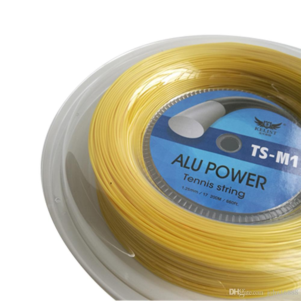 Big Banger KELIST Alu Power Tennis String, 1.25MM, 200MSame alta qualità come marca famosa