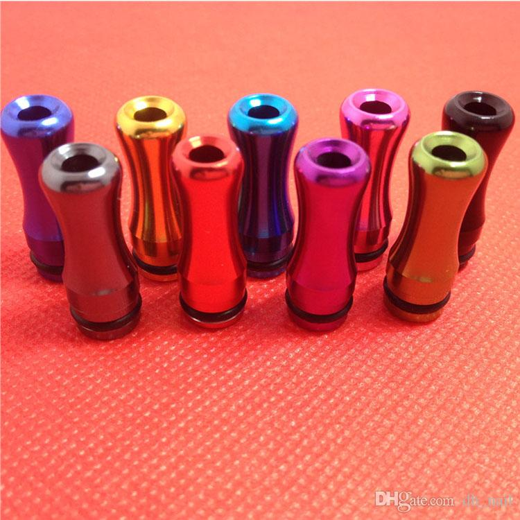 EGO Metal Drip Tip Aluminum Metal Mouthpiece 510 Atomizer Mouthpiece for E Cigarette Vivi Nova 510 DCT