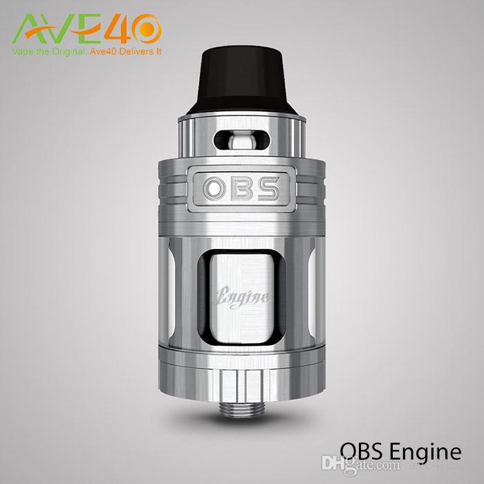 Authentic New OBS Engine RTA RBA Atomizer Tank Side Filling Top Air Flow Temperature Control VS OBS Crius Tank