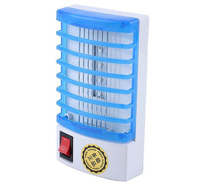 Мини светодиодный ночник типа розетки электрический комаров ошибка убийца насекомых ловушка ночная лампа Zapper 110/220 В