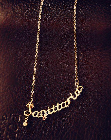 On Sale gioielli di moda 12 segni dello zodiaco Lettera Pendenti, collana Cavicle, Ariete / Toro / Gemini, con il materiale della lega,