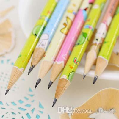 Cute Cartoon Standard Pencil for Kids Gift School Office Supplies Children Drawing Painting Pencils Papelaria