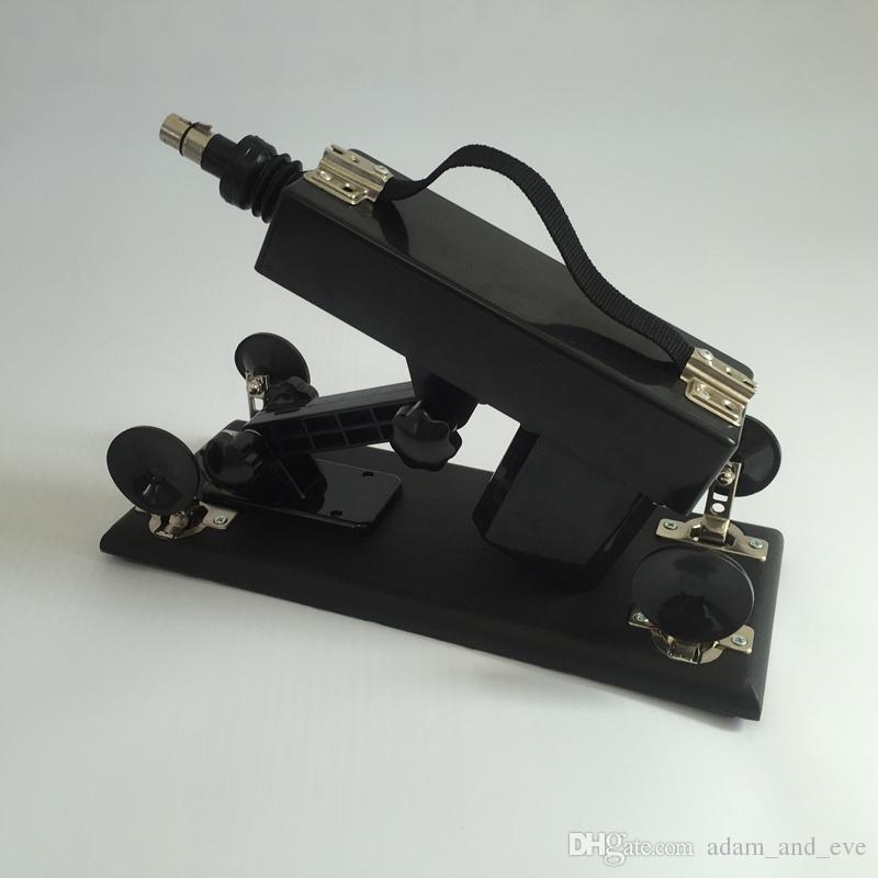 Automatic Sex Machine Gun with Realistic Dildo Penis Adjustable Telescopic Speed Love Machines Female Masturbator Sex Furniture