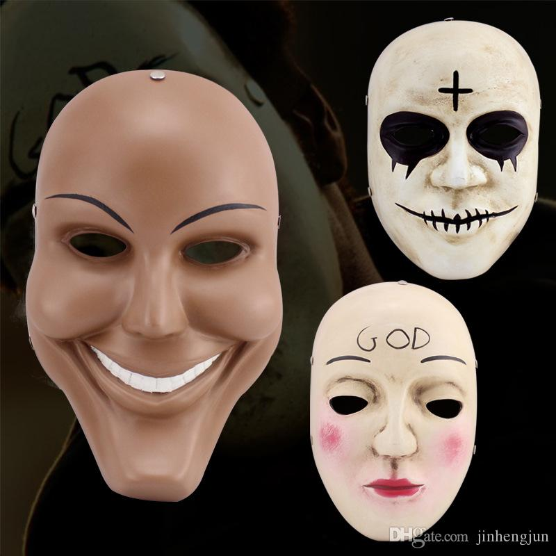 The Movie Theme The Purge Collector Human Out God Terrorist Mask ...
