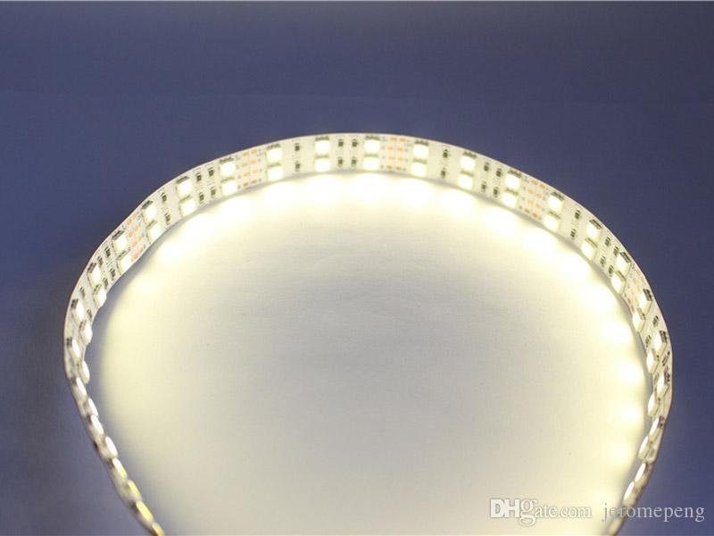 12v 24V DC 120LEDs / M SMD 5050 LED bande non étanche IP65 IP67 rose, violet, rouge, jaune, bleu, vert, blanc, blanc chaud
