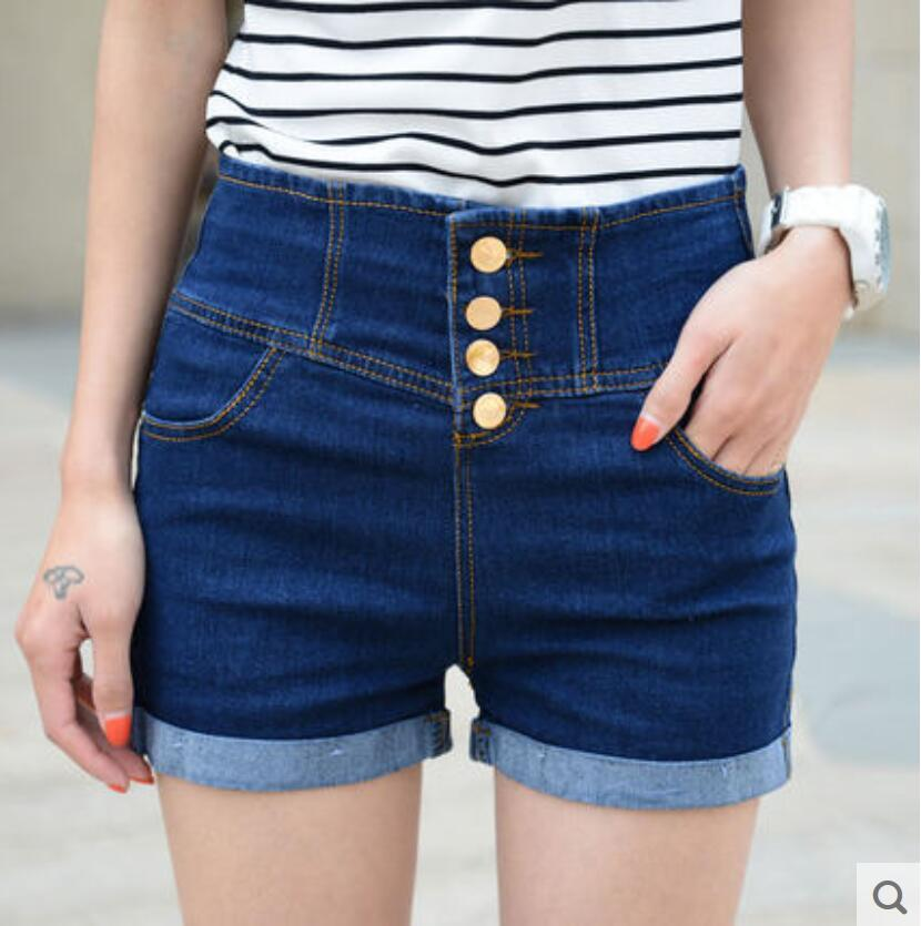 Best Korean Fashion Women'S Denim Shorts Ladies' Short Pants For ...
