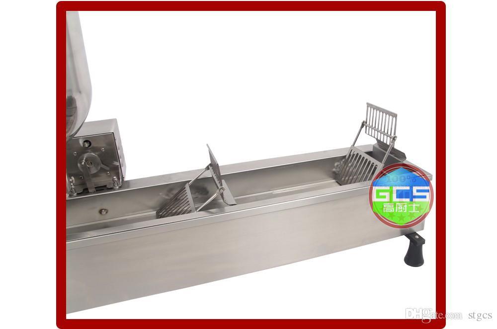 شحن مجاني التجاري الكامل التلقائي آلة دونات 110 فولت 220 3000 واط المقاوم للصدأ دونات صانع تأتي مع 3 العفن