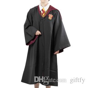 Free Shipping 4 styles Harry Potter Costume Adult and Kids Cloak Robe Cape Halloween Harry Potter Cloak Robe Harry Potter Cosplay Costume