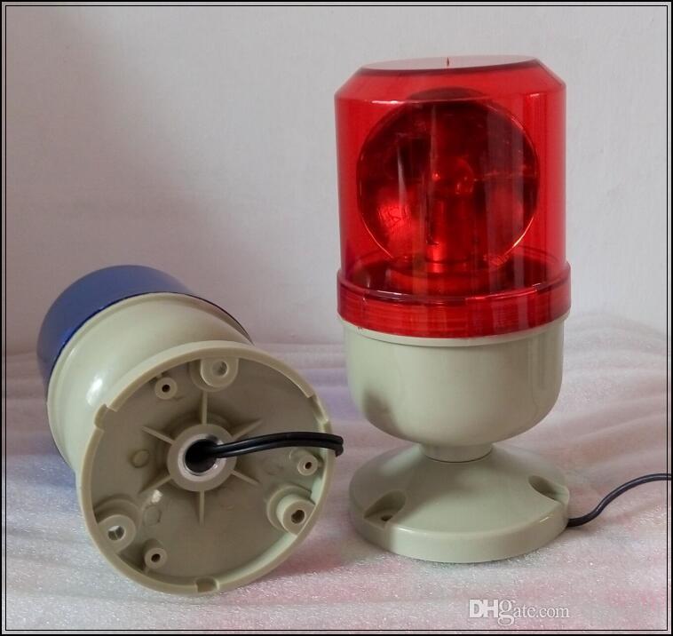 DC12V, 24V, AC110V, 220V 할로겐 회전 자동차 경고등, 경찰 구급차 용 비상 비상 조명, ATV, 기계, 방수