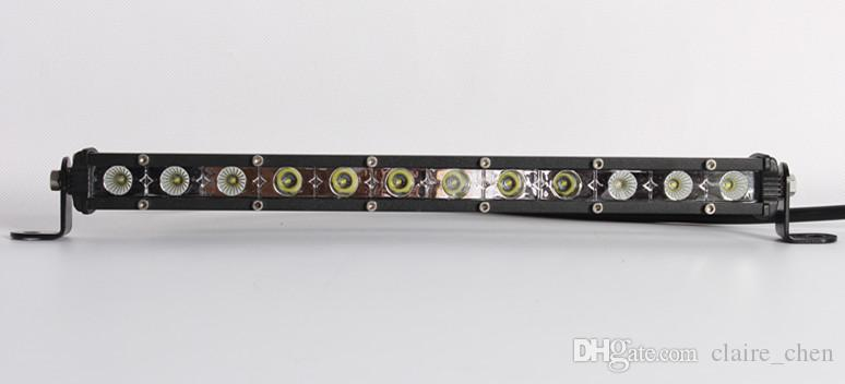 ! Mini light bar 36w 13inch cree led car light spot/flood/combo ip67 for offroad fog light truck led work light bar