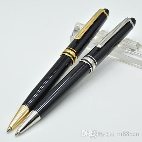 Haute Qualité 163 stylo à bille noire brillant / stylo à boule à rouleaux / stylo plume de stylo plume